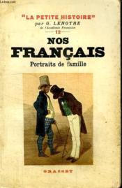 Nos Francais. Portraits De Famille. - Couverture - Format classique
