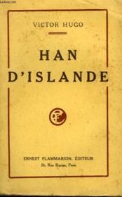Han D'Islande. - Couverture - Format classique