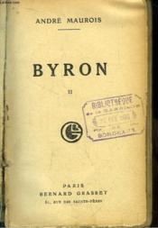 Byron. TOME 2 - Couverture - Format classique