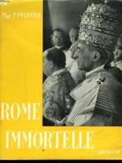 Rome Immortelle - Couverture - Format classique