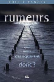 Rumeurs D Un Autre Monde - Couverture - Format classique