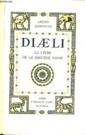 Diaeli Le Livre De La Sagesse Noire. - Couverture - Format classique