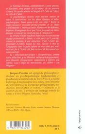 Narcissisme et seduction ; pour une critique metaphysique du concept d'idealisation - 4ème de couverture - Format classique
