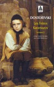 Les frères Karamazov t.2 - Couverture - Format classique