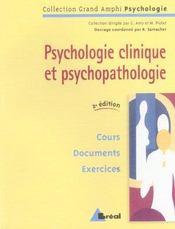 Psychologie clinique et psychopathologie - Intérieur - Format classique