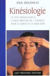 Kinesiologie - Intérieur - Format classique