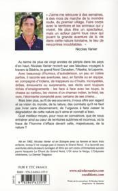 Mémoires glacées - 4ème de couverture - Format classique