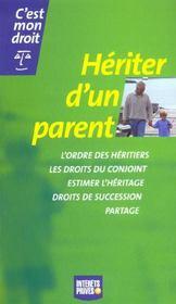 Heriter D'Un Parent - Intérieur - Format classique