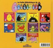 BARBAPAPA ; les animaux - 4ème de couverture - Format classique