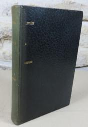 Lettres à Lucilius. - Couverture - Format classique