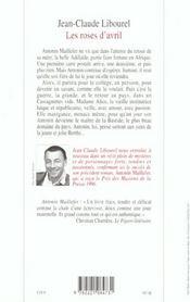 Antonin maillefer - tome 2 - les roses d'avril - 4ème de couverture - Format classique