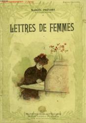 Lettres De Femmes. Collection Modern Bibliotheque. - Couverture - Format classique
