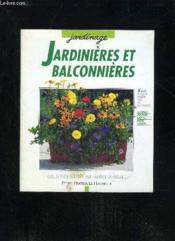 Jardiniers Et Balconieres - Couverture - Format classique