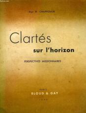 Clartes Sur L'Horizon, Perspectives Missionnaires - Couverture - Format classique