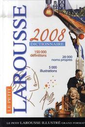 Le petit larousse (édition 2008) - Intérieur - Format classique