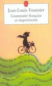Grammaire francaise et impertinente - Intérieur - Format classique