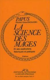 La science des mages et ses applications théoriques et pratiques - Couverture - Format classique