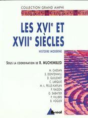 Les Xvie Et Xviie Siecles Histoire Moderne T.1les Xvie Et Xviie Siecles Histoire Moderne T 1 - Intérieur - Format classique