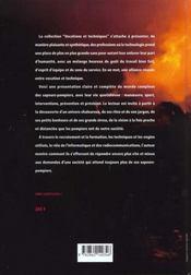 Pompiers J'Ecoute - 4ème de couverture - Format classique