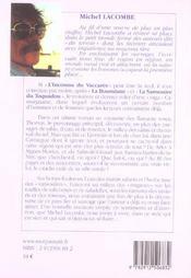 L'inconnu du vaccares - 4ème de couverture - Format classique