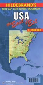 USA ; l'est/the east - Couverture - Format classique