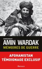 Mémoires de guerre - Couverture - Format classique