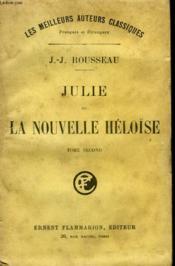 Julie Ou La Nouvelle Heloïse. Tome 2. - Couverture - Format classique