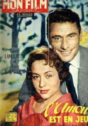 Mon Film N° 597 - L'Amour Est En Jeu - Couverture - Format classique