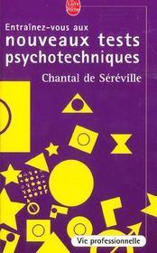 telecharger Entrainez-vous aux nouveaux tests psychotechniques livre PDF en ligne gratuit