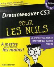 Dreamweaver CS3 pour les nuls - Intérieur - Format classique