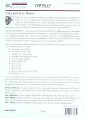 Ajax Par La Pratique - 4ème de couverture - Format classique