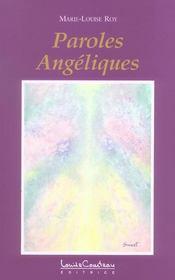 Paroles angeliques t.1 - Intérieur - Format classique
