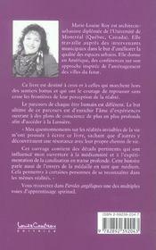 Paroles Angeliques T.1 - 4ème de couverture - Format classique