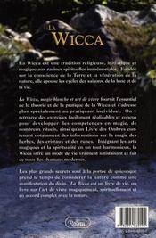 La wicca ; magie blanche et art de vivre - 4ème de couverture - Format classique