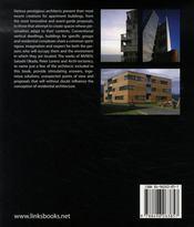 Innovative apartment buildings - 4ème de couverture - Format classique