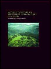 Nature et culture en République démocratique du Congo - Couverture - Format classique