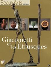 Giacometti et les Etrusques - Couverture - Format classique
