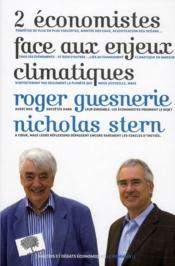Deux économistes face aux enjeux climatiques - Couverture - Format classique