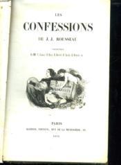 2 Tomes. Les Confessions. - Couverture - Format classique