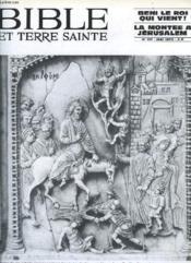 Bible Et Terre Sainte, N° 171, Mai 1975 - Couverture - Format classique