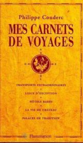 Mes Carnets De Voyages - Couverture - Format classique