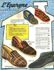 Catalogue L'Epargne, Automne 1956. - Couverture - Format classique