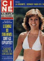 CINE REVUE - TELE-PROGRAMMES - 60E ANNEE - N° 51 - ASPHATE: la cauchemar des drogués de la route! - Couverture - Format classique