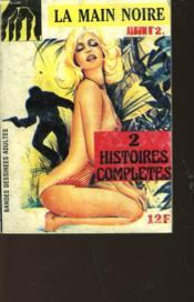 La Main Noire - Album N°2 - 2 Histoires Completes - Couverture - Format classique