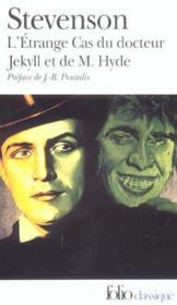 L'étrange cas du docteur Jekyll et de M. Hyde - Couverture - Format classique