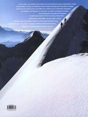 Hautes cimes du mont-blanc - 4ème de couverture - Format classique