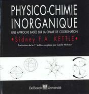 Physico-chimie inorganique - Intérieur - Format classique