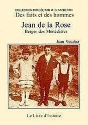 Jean De La Rose - Couverture - Format classique
