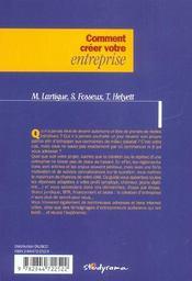 Comment creer votre entreprise edition 2003/2004 - 4ème de couverture - Format classique