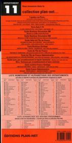 Département t.11 ; Aude - 4ème de couverture - Format classique